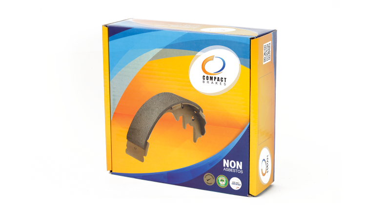 Compact Brake Shoes (Model: TCN)